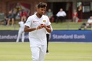 Suranga Lakmal gets ready to bowl, South Africa v Sri Lanka, 2nd Test, Port Elizabeth, 2nd day, February 22, 2019