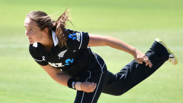Amelia Kerr took three wickets in an over