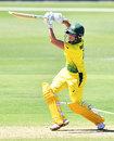 Beth Mooney lofts the ball, Australia Women v New Zealand Women, 2nd ODI, Adelaide, February 24, 2019