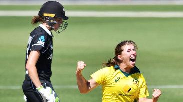 Georgia Wareham celebrates a success