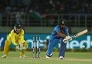 KL Rahul unfurls a reverse-sweep, India v Australia, 1st T20I, Vizag, February 24, 2019