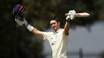 Kurtis Patterson reached another century