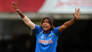 Jhulan Goswami goes up in appeal