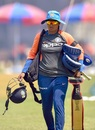 Mithali Raj gets ready for a hit, India v England, 2nd women's ODI, Mumbai, February 24, 2019