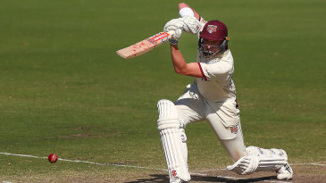 Matt Renshaw gets in position to drive