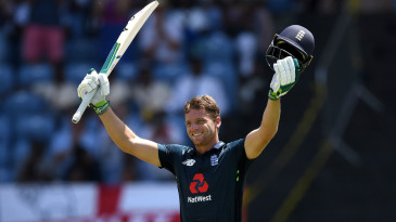 Jos Buttler brought up his seventh ODI hundred
