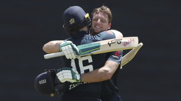 Eoin Morgan and Jos Buttler put on 204 runs together