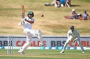 Shadman Islam pulls, New Zealand v Bangladesh, 1st Test, Hamilton, 1st day, February 28, 2019