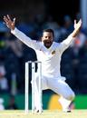 Dimuth Karunaratne appeals to the umpire, 1st Test, Australia v Sri Lanka, Brisbane, January 25, 2019