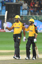 Kieron Pollard and Umar Amin hit unbeaten half-centuries, Multan Sultans v Peshawar Zalmi, Pakistan Super League, Dubai, February 28, 2019