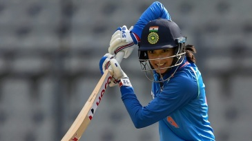 Smriti Mandhana plays one on the off side