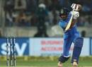 Ambati Rayudu eases one through the off side, India v Australia, 1st ODI, Hyderabad, March 2, 2019
