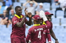 Jason Holder struck in his opening spell, West Indies v England, 5th ODI, St Lucia, March 2, 2019