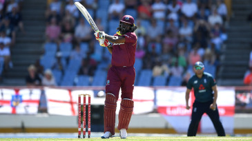 Chris Gayle went on another rampage