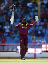 Chris Gayle cracked a 19-ball half-century, West Indies v England, 5th ODI, St Lucia, March 2, 2019