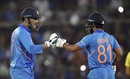 MS Dhoni and Kedar Jadhav combined to help India pull off another chase, India v Australia, 1st ODI, Hyderabad, March 2, 2019