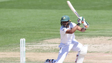 Mahmudullah drives through the off side during his career-best innings