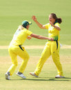 Georgia Wareham halted a good start by New Zealand, Australia v New Zealand, 3rd ODI, Melbourne, March 3, 2019