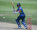 Kusal Mendis steers one towards fine leg, South Africa v Sri Lanka, 1st ODI, Johannesburg, March 3, 2019