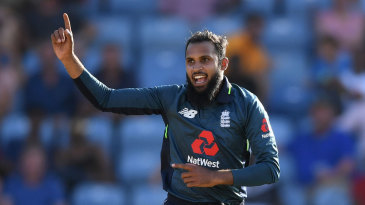 In Grenada, four of Adil Rashid's five wickets came in his last five balls