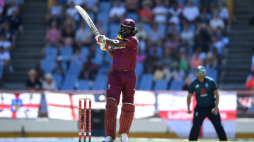 Thirty nine of Chris Gayle's 314 sixes in ODIs came in the recent series against England alone