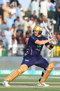 Shane Watson cuts one behind point, Peshawar Zalmi v Quetta Gladiators, Pakistan Super League 2019, Abu Dhabi, March 4, 2019