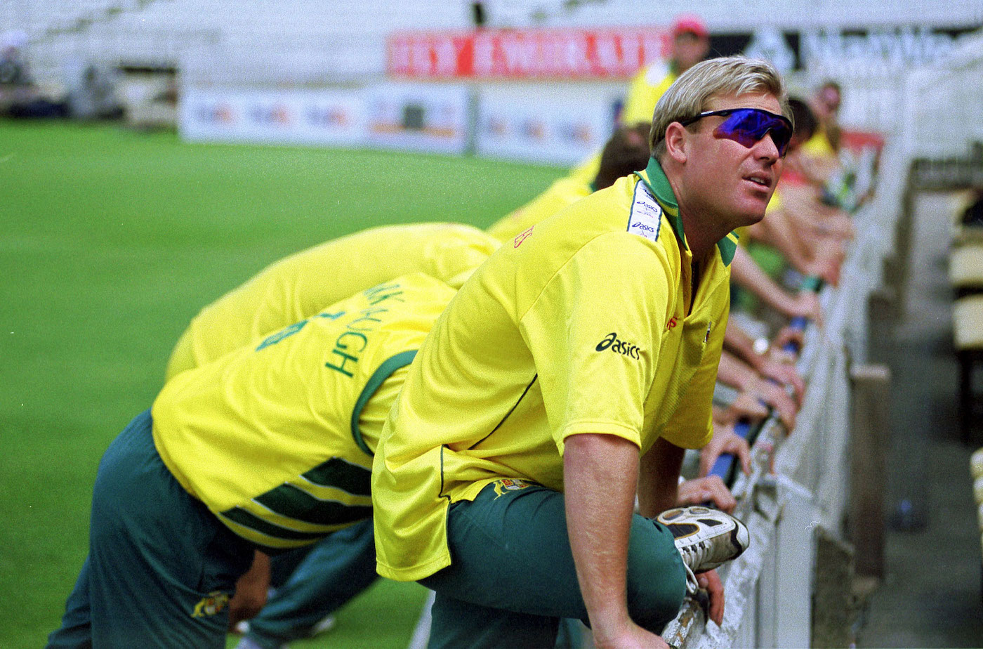 These shades hide my inner turmoil: Warne came into the Super Six stage at his lowest ebb psychologically