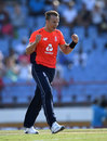 Tom Curran claims another wicket, West Indies v England, 1st T20I, St Lucia, March 5, 2019