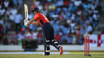 Jonny Bairstow flicks another boundary off his toes