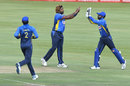 Lasith Malinga celebrates after a wicket, South Africa v Sri Lanka, 2nd ODI, Centurion, February 6, 2019