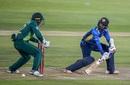 Oshada Fernando steers one past Quinton de Kock, South Africa v Sri Lanka, 2nd ODI, Centurion, February 6, 2019