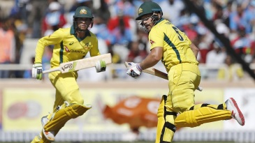 Aaron Finch and Usman Khawaja set a solid foundation