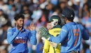 Kuldeep Yadav took quick wickets to pull things back for India, India v Australia, 3rd ODI, Ranchi, March 8, 2019