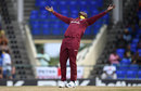 Sheldon Cottrell struck an early blow for West Indies, West Indies v England, 2nd T20I, , St Kitts, March 8, 2019