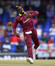 Fabian Allen struck twice in his four overs, West Indies v England, 2nd T20I, , St Kitts, March 8, 2019