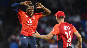 Chris Jordan claimed career-best figures of 4 for 6