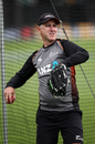 New Zealand coach Gary Stead winds up, New Zealand v Bangladesh, 2nd Test, Wellington, 2nd day, March 9, 2019