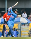 Smriti Mandhana goes big on the leg side, India v England, 3rd women's T20I, Guwahati, March 9, 2019