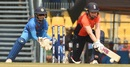 Heather Knight plays a reverse sweep, India v England, 3rd women's T20I, Guwahati, March 9, 2019