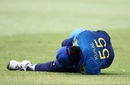 Kusal Perera was injured while fielding early in South Africa's innings, South Africa v Sri Lanka, 4th ODI, Durban, March 10, 2019