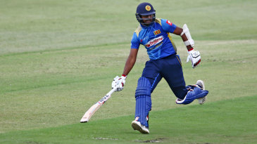 Avishka Fernando looks to make his ground