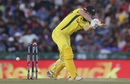 Shaun Marsh is clean bowled by a full ball, India v Australia, 4th ODI, Mohali, March 10, 2019