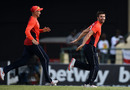 Joe Root chases after Mark Wood, West Indies v England, 3rd T20I, St Kitts, March 10, 2019