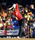 Alex Hales drives down the ground, West Indies v England, 3rd T20I, St Kitts, March 10, 2019