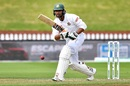 Mahmudullah plays one on the leg side, New Zealand v Bangladesh, 2nd Test, Wellington, 5th day, March 12, 2019