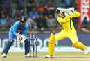 Peter Handscomb uses the depth of the crease nicely, India v Australia, 5th ODI, New Delhi, March 14, 2019