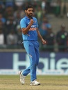 Bhuvneshwar Kumar does well with the old ball too, India v Australia, 5th ODI, New Delhi, March 14, 2019