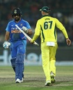 Rohit Sharma lost his bat and his wicket to the same ball, India v Australia, 5th ODI, New Delhi, March 13, 2019