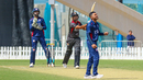 Shaiman Anwar launches Timil Patel over the leg side for one of his five sixes, UAE v USA, 2nd T20I, Dubai, March 16, 2019