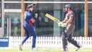 Jessy Singh celebrates after getting Ashfaq Ahmed to edge behind, UAE v USA, 2nd T20I, Dubai, March 16, 2019